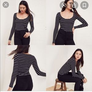 Like new Reformation Marielle Top